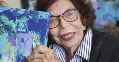 san-marcos-artist-preps-for-her-latest-solo-exhibition-—-at-age-104-–-the-san-diego-union-tribune