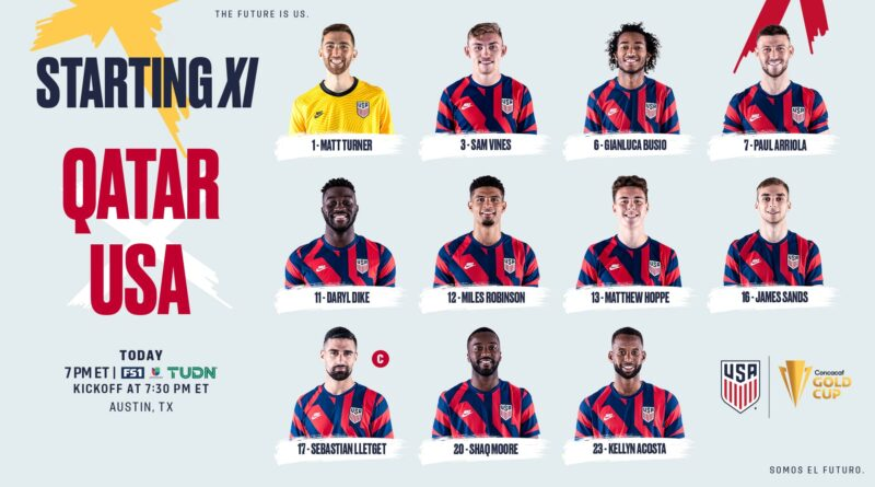 2021-concacaf-gold-cup-semifinal:-usa-vs-qatar-–-starting-xi,-lineup-notes,-tv-channels-&-start-time-–-us.-soccer