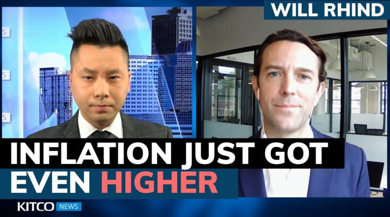 Inflation hit another 13-year high, expect $2k gold price by year-end if things don't change