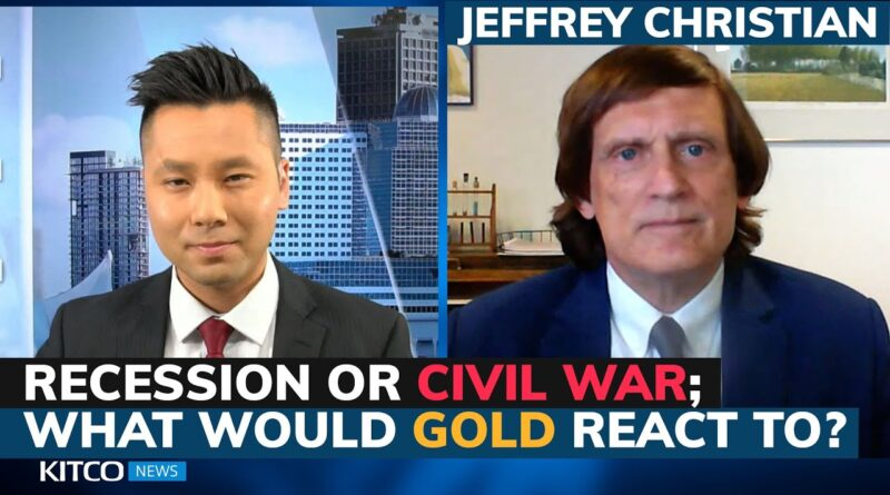 Likelihood of 'political violence' at historic high, how would gold react? – Jeff Christian