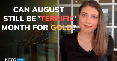 Already down $50, but August could still be 'terrific' month for gold